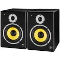 2 x 80W audio speakers