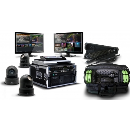 EASYstudio Live Portable with cameras and audio kit
