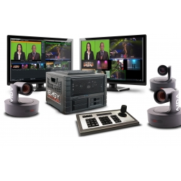 EASYstudio Video Live compact & kit caméra PTZ NDI
